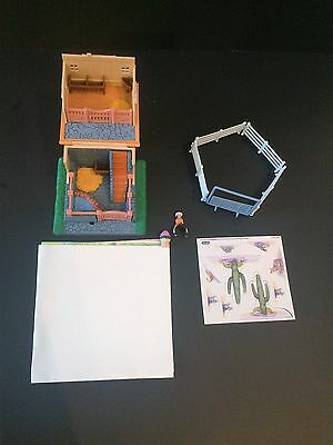 Breyer Mini Whinnie Silver City Hacienda Play Set
