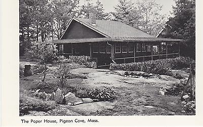 The Paper House. Pigeon Cove, Mass. Cape Ann Ticket & Label Co., Mass.