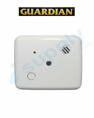Guardian Smoke Alarm Photoelectric 240V C/w Rechargeable Battery Sds