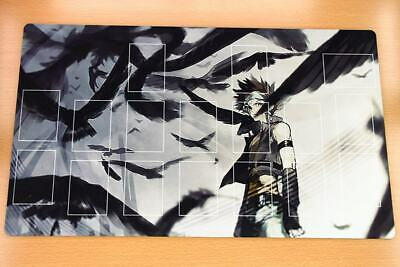 F1747+ Free Mat Bag Yugioh Blackwing Trading Card Game Custom Playmat With Zones