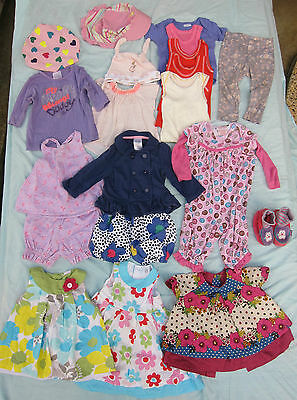 Baby Girls Clothing Bundle Lot - Size 00 / 6-12 Months - 20 Clothes