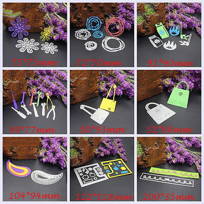 Cutting Dies Stencil DIY Scrapbooking Greeting cards Album Embossing Cards Craft