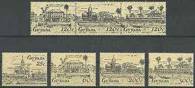 Timbres Guyana 1100/6 ** lot 20850