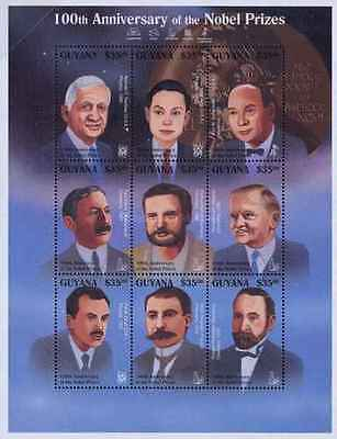 Timbres Personnages Guyana 3887/95 ** année 1995 lot 20859