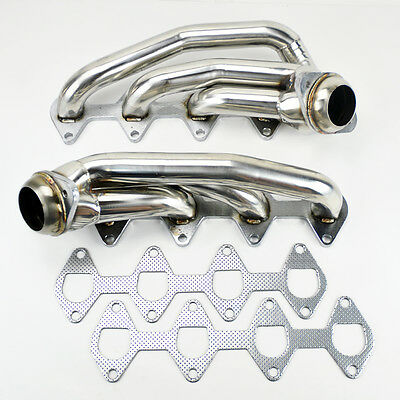 Ford Mustang 05-10 4.6L V8 Stainless Exhaust Manifold Headers Performance Shorty