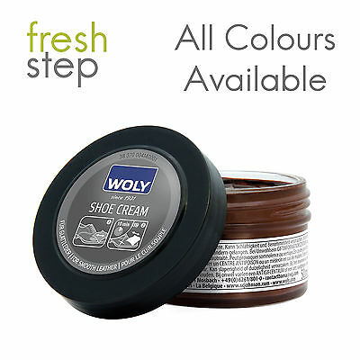 Woly Shoe Creams | Leather Creams 50ml With Free Applicator | All Colours