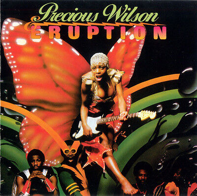 Precious Wilson & Eruption ‎– Leave A Light RARE COLLECTOR'S CD! FREE SHIPPING!