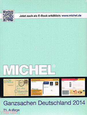 Michel Catalogo Interi Postali Della Germania 2014