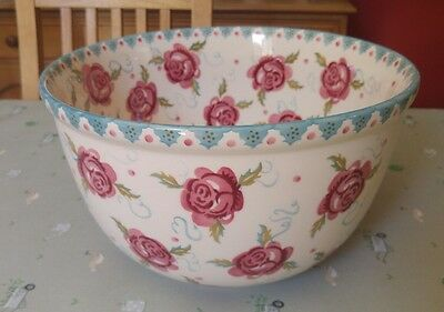 Emma Bridgewater Collectors Rose and Bee Mixing Bowl 1st