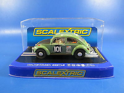 Scalextric C3361 Vw Beetle Peking-Paris, 1/32, Mib!