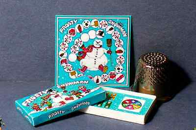 Dollhouse Miniature 1:12 Frosty The Snowman Game dollhouse  Christmas game toy