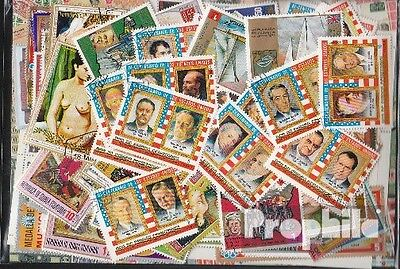 Equatorial-Guinea 300 different stamps