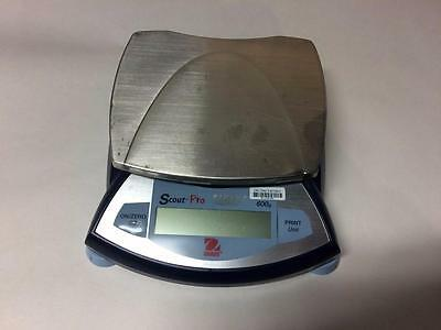 Ohaus Scout Pro 600G Sp601 Balance Scale (Ac Adapter Not Included)