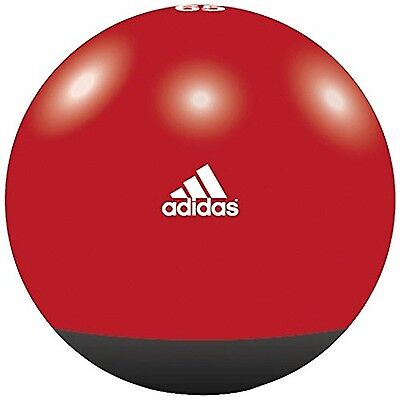 Adidas Premium Accessory Gym Ball Red Black Fitness Yoga Workout Exercise 65 CM