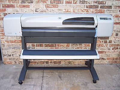 "Refurbished HP DesignJet 500ps Large Format 42"" Wide Printer Plotter C7770C"