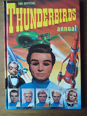 THUNDERBIRDS Hardback Annual 1992 Very Good Condition Unclipped
