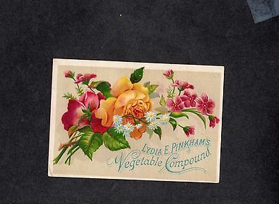 T384 trade card advertising Lydia E Pinkham's Vegetable Compound