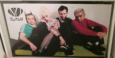No Doubt Poster 1996 Rare Oops Outof Print 2005 Gwen Stefani