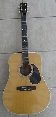 ANCIENNE GUITARE CODIM FRANCE MADE IN JAPAN 1970's VINTAGE