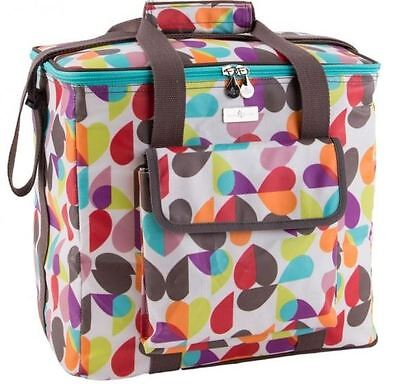 BEAU & ELLIOT HEART FAMILY COOLER INSULATED COOL BAG - Brokenhearted Design