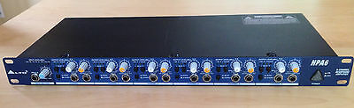 Alto Professional HPA6 Six-Channel Stereo Headphone Amplifier