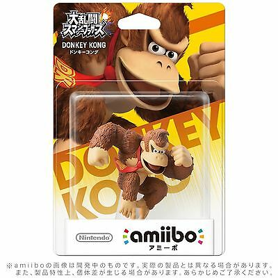 Donkey Kong Amiibo Super Smash Bros Collection Nintendo Wii U 3DS Neu Sealed
