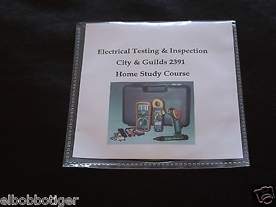 2391 Electrical Testing and Inspection Home Study Course City & Guilds Revision