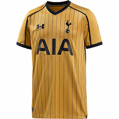 Tottenham Hotspur FC Football Shirt  Away 3rd Mens Jersey Spurs Under Armour Top