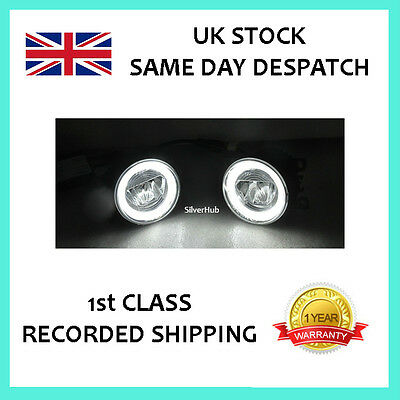For Vw Volkswagen Touareg 2003-2007 Led Drl Daytime Running Lights Fog Lamp Kit