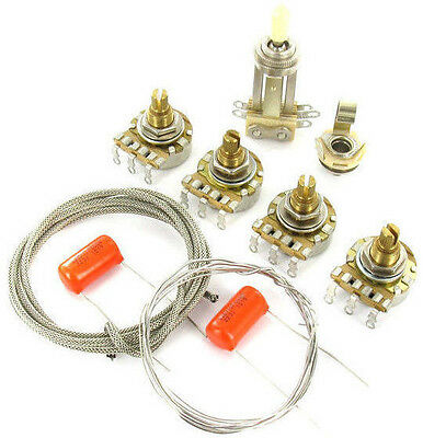 Les Paul Premium Long Shaft Wiring Kit  MONTREUX fits to Les Paul ®