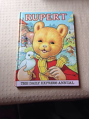 Collectable The Daily Express Rupert Annual book 1981 -  Lovely condition