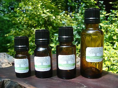 Peppermint Essential Oil - 100% Pure, Natural 5 10 15 30 60 mL, 1 2 oz