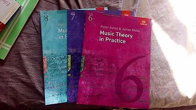 Music Theory in Practice 6,7,8 Grade (ABRSM)