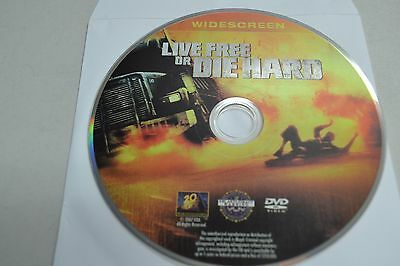 Die Hard 4: Live Free or Die Hard (DVD, 2007 Widescreen)Disc Only 4-256