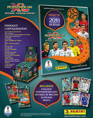 Road To World Cup 2018 Adrenalyn XL Complete Set Of 531 Cards in Binder