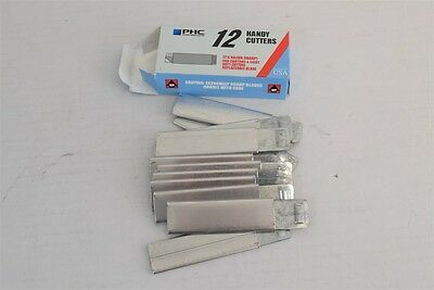 Box of 12x PHC Retractable Utility Knife Carton Box Handy Cutters MADE IN USA!