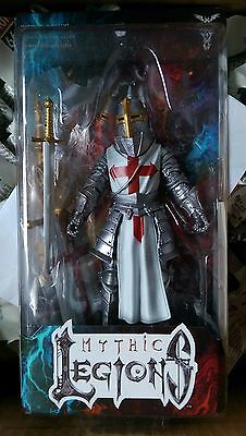 Mythic Legions Templar Knight Builder NEW NEUF Four Horsemen (last one )