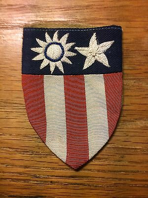 Original Wwii - Cbi - China, Burma, India Patch - Theater Made With  Embroidery