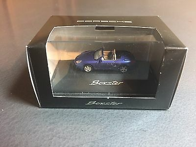 1997 Porsche Boxster Metallic Blue Factory Issued 1:87 Model RARE!! Awesome L@@K