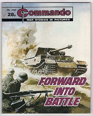Commando War Stories In Pictures - #2161 Forward Into Battle, 1988 Comic