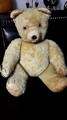 Antique Rare Old Vintage Teddy Bear 38 cm