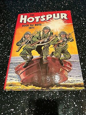 The Hotspur Annual Book for Boys 1971 Ex + condition