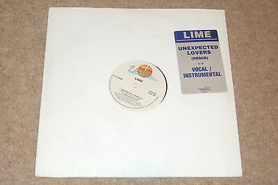 Lime  – Unexpected Lovers        1985   NEAR MINT!    DISCO!!