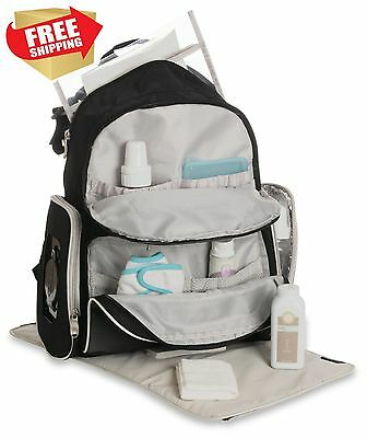 Diaper Bag Set Mom Baby Shower Boy With Changing Pad Travel Organizer System New
