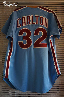 Vintage Steve Carlton Authentic Wilson 1973-1986 Road Jersey