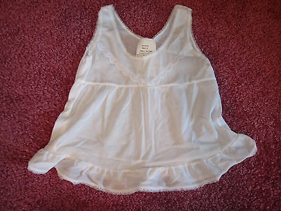 EUC Vintage Infant Girls Size 6-9 months FULL SLIP