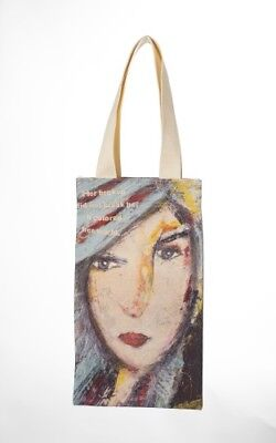 The Gratitude Wine Cotton Canvas Tote Designed By Tiffany Stout Bag Travel