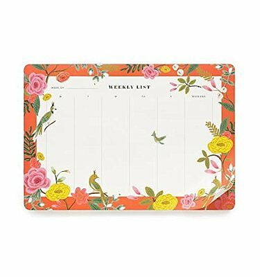 Rifle Paper Co Weekly Desk Pad Shanghai Stationary Planner Office Mouse Pad