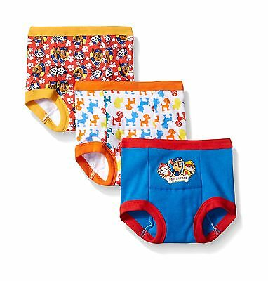 Nickelodeon Baby-Boys' Paw Patrol Boy 3 Pack Training Pant Assorted 3T