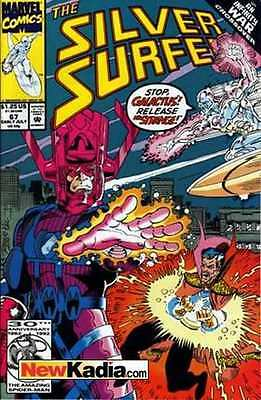 Silver Surfer (1987 series) #67 in Near Mint - condition. FREE bag/board
